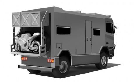 太脱拉全驱卡车底盘,防弹安全级别,国内又将迎来一款高端越野房车