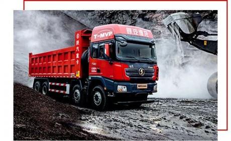 德龙X3000标准版自卸车,猛将大有作为