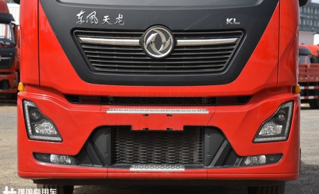 按轴收费下最佳的车型,2轴国六版天龙KL牵引车实拍