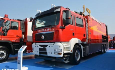 消防车只能选进口的?国产底盘正在崛起!带您看两款汕德卡消防车