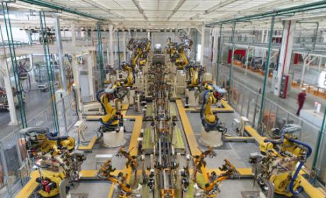江淮汽车56周年之世界级工厂:生态绿色 ,智能智造的新港基地