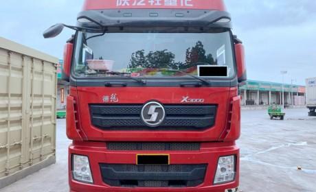 9米6绿通运输它最合适?气囊悬架+双腔油箱,德龙X3000载货车实拍