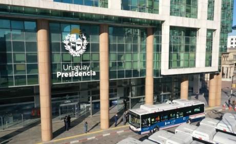 总统见证!比亚迪向乌拉圭交付20台纯电动大巴