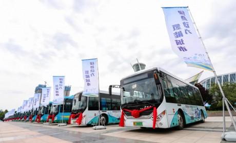 又一批中通氢燃料客车交付潍坊