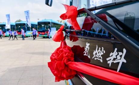 潍柴以氢之名全速领跑, 150辆氢能源公交投放潍坊