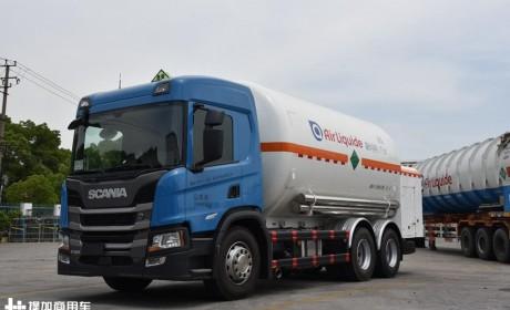 特种底盘为什么喜欢斯堪尼亚卡车?一辆低温液体运输车的诞生过程给您答案