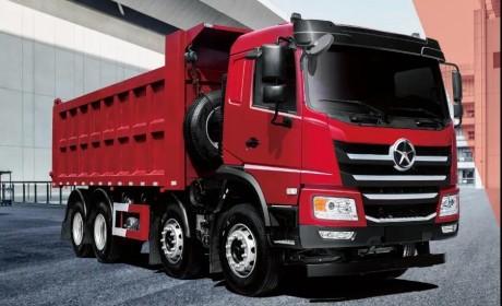 大运N6H系列8*4自卸车,给你想要的仪式感!