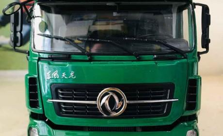 价格又要抬上天?一款少见的卡车模型,东风天龙中国邮政版模型评测