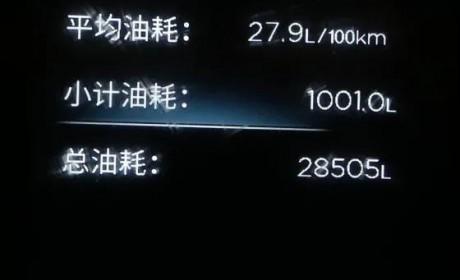 27.9L/100Km!极限挑战,天龙KL再创新纪录!