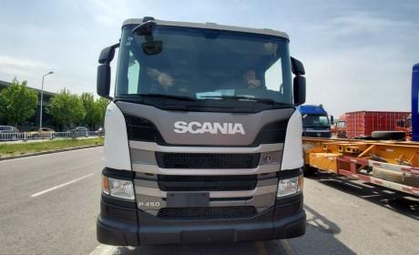 中联极光绿56米上装泵车评测,配最新斯堪尼亚底盘,售价高达350万