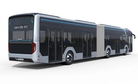 出行新选择,曼恩Lion's City 18E巴士即将进行实测并投入运营