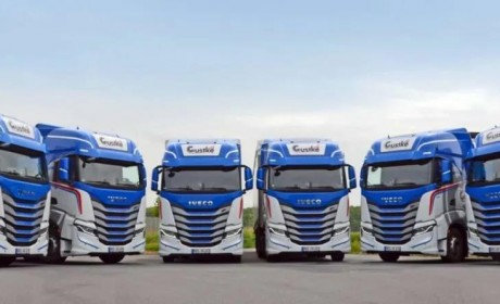 续航1600公里 ,依维柯向德国大客户交付30辆S-WAY NP天然气牵引车