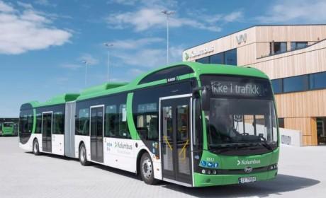 比亚迪全球首批纯电动城际巴士交付,北欧运营超200台