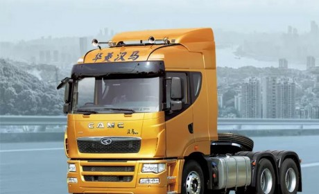 汉马11升450马力发动机,性价比很给力 ,买高端牵引车还看华菱