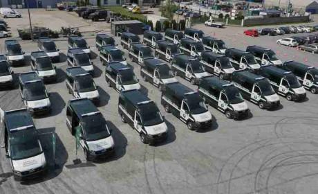护航城市交通,32辆曼恩TGE交付波兰道路运输监察局