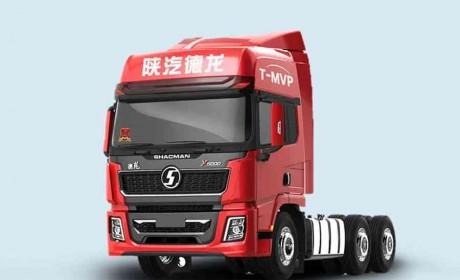 标载运输模范重卡,陕汽德龙X5000 卡友移动的五星级酒店