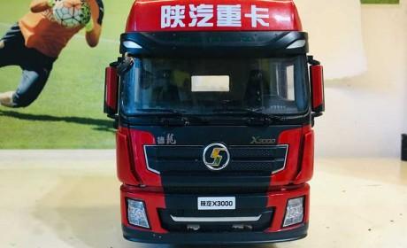 德龙X3000牵引车模型评测,升级款模型质感更好,24比例细节待提升