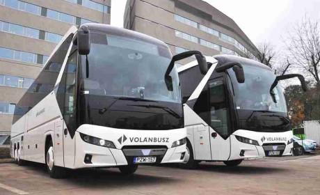 不凡实力,再获认可,曼恩向匈牙利公交运营公司交付尼奥普兰客车