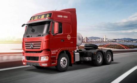 """大运国六N9H远航版2.0燃气牵引车,运输路上的好""""拍档""""!"""