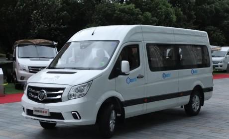 专业客运上乘品质,福田图雅诺小客九座专业客运正式发布