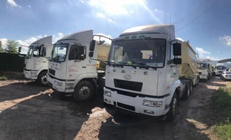 再次一次性买70台,华菱星马散装水泥车硬核品质征服梅州老客户