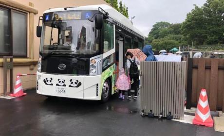 比亚迪日本市场再突破,纯电动巴士首次登陆东京