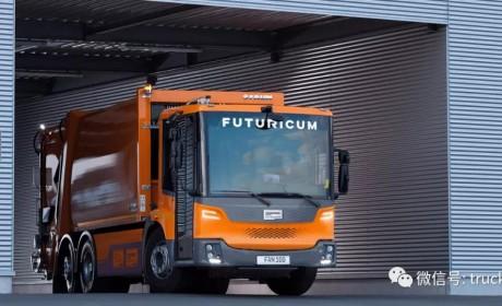 纯电版Econic亮相, Designwerk和戴姆勒卡车将生产低入口电动卡车