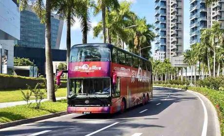 致敬璀璨新时代,全新比亚迪纯电动双层观光巴士献礼深圳特区40周年