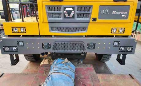 一款合法的百吨王,徐工新款非公路自卸车实拍,专为矿山工况打造
