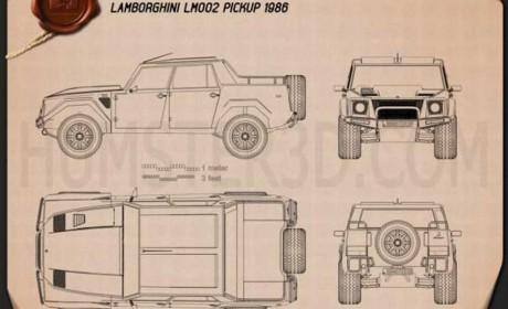 兰博基尼皮卡见过吗,搭载V12发动机内饰超豪华,还全球限量60台