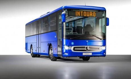 又是一副卡车脸,奔驰推出全新Intouro城郊客车