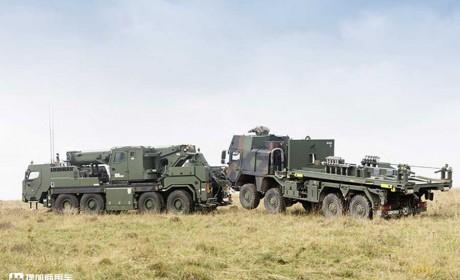 德国陆军的新锐坐骑,利勃海尔G-BKF装甲救援起重机的那些事
