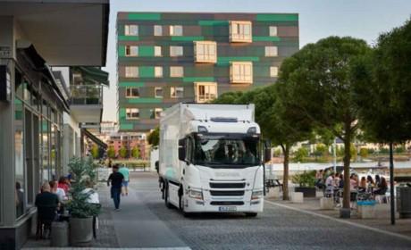 斯堪尼亚电气化的里程碑 —— 推出首个电动卡车系列