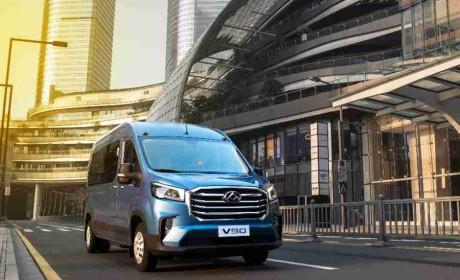 操控比拼乘用车,多种动力选择,上汽大通MAXUS V90开辟中高端轻客新时代