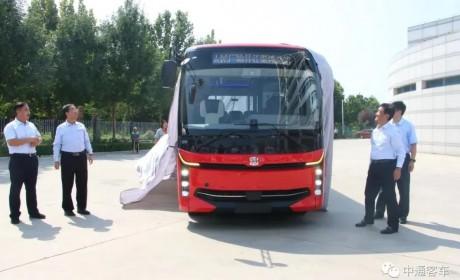 中通客车2020智慧新品睿通V60全系产品正式发布