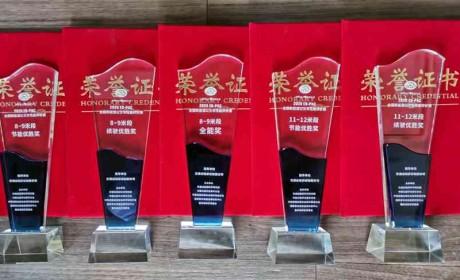 2020全国新能源公交车性能评价赛,安凯揽获五项大奖