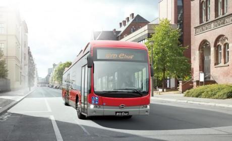 获芬兰最大纯电动巴士订单,比亚迪首次驶入圣诞老人故乡