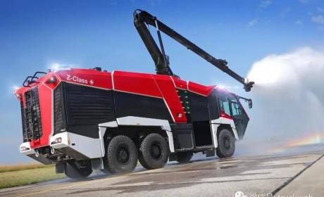 最高1540马力,齐格勒发布新款Z-Class机场消防车