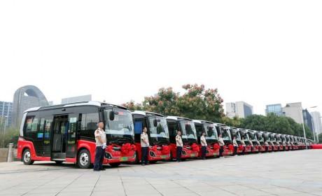 """30辆金龙逍遥上岗""""最后一公里 """"   温州微公交服务再升级"""