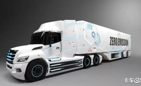 丰田日野联手造燃料电池重卡!8级燃料电池续航里程更长