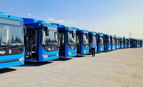 绿动甬城,吉利远程公交批量交付宁波市上线运营