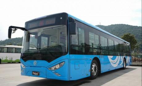 助力发展绿色交通体系,银隆新能源公交再入北京
