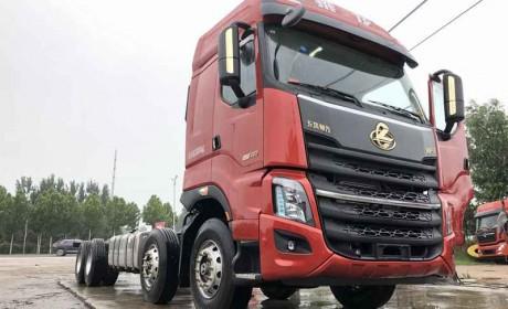 9米6载货车用了12升排量460马力发动机,谁家车?