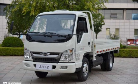 更舒适的小卡车型,国六燃气机续航350公里,时代小卡之星评测
