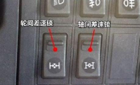 卡车上的差速锁你了解多少?正确使用了有大用处