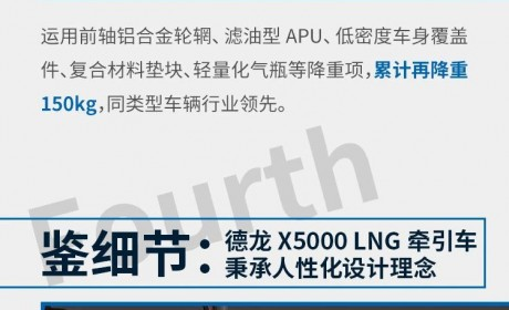 德龙X5000 LNG牵引车:请问,致富总共分几步?