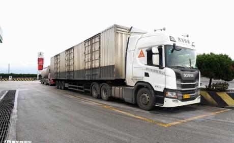 进口卡车能不能跑云南的山路? 我们跟随斯堪尼亚体验了一段,结果让人信服