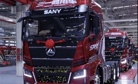 三一重卡江山版下线,首款全新驾驶室,正式进军中高端市场!
