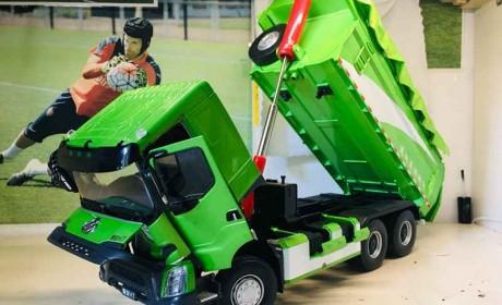 乘龙H7口碑怎么样?看看这款城建渣土车模型的做工,您就知道了