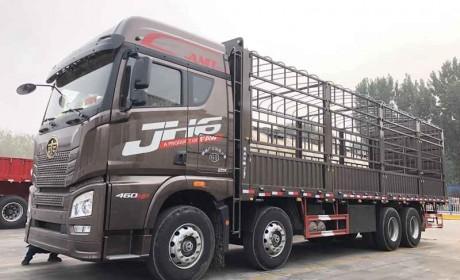 快递绿通都选它,操控性与J7一致,解放JH6自动挡载货车实拍